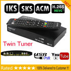 Satellite Receiver D4S PRO DVB S2 H.265 Biss Key Twin Tuner IKS SKS 1080P HD PVR