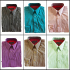 Dimension Big Boy's Button Down Striped Casual Going Out Dress Shirt 8-18