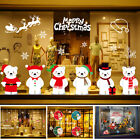 Merry Christmas Home Store Decoration Window Stickers Decor Supplies Ornament
