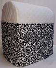 Внешний вид - White Quilted Floral Damask Cover for Kitchenaid Lift Bowl Stand Mixer