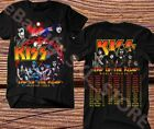 KISS band T-Shirt End of the Road Farewell Tour 2019 Concert Tee image