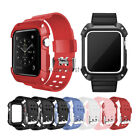 Rugged Protective Case Cover with Bracelet Watch Band For Apple Watch 42mm 38mm image