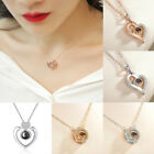 Usa Subloom-100 Languages I Love You Pendant Necklace Heart Jewelry Gift 2019