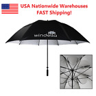 "Golf Umbrella 68"", 62"", 52"" Windproof UPF50+ UV Fits 3 ppl, Men, Gift for Dad"