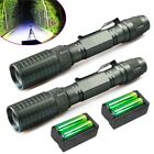 Tactical 90000LM 5Modes T6 LED Zoomable Flashlight Aluminum Torch +18650&Charger