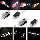 For Audi Cree Logo Laser Projector Door Courtesy Puddle Shadow Light Led Lamp