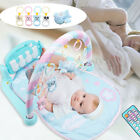 3 In 1 Baby Play Mat Kid Floor Lay Piano Gym Musical Controller Pink