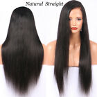 Black Curly Full Wig Lace Front Peruvian Human Hair Wigs Preplucked Baby Hair XK