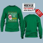 Hot new time for a beer green Shirt Long sleeve Gift Christmas