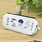 Kpop BTS Bangtan Boys Pencil Bag Case Makeup Bag School Stationery JK JIMIN RM