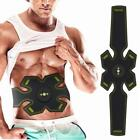 ABS Stimulator EMS Abdominal Gear Body Muscle Training Belt Fitness Exercise HK#