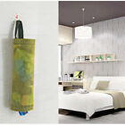 Home Grocery Bag Holder Wall Mount Storage Dispenser Plastic Receive And Receive