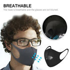 Внешний вид - 1/3x Washable Anti-Dust Respirator Cycling Mouth Face Mask Surgical PM2.5 Filter