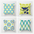 18 Inch Pillow Cover European Classic Geometric Sofa Cushion Cover Pillowcase image