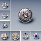 40mm Diamond Crystal Clear Ball Glass Drawer Knobs Door Cabinets Pulls Handles