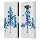 OFFICIAL CAT COQUILLETTE PINE TREES LEATHER BOOK CASE FOR SAMSUNG PHONES 2