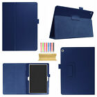 For Huawei MediaPad  T3 M3 Lite 10'' Tablet Folded PU Leather Stand Case Cover