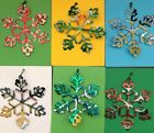 Snowflake Christmas Ornament Recycled Aluminum Can Sprite 7up A&W Lemonade Gift $2.75  on eBay