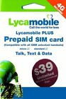 LYCAMOBILE Preloaded Sim Card Prepaid $23/$29/$35/$39 1/2/3 Months TextTalk Data <br/> ✅SIMPLE ACTIVATION JUST DIAL 622✅GetUPTO 10%OFF✅TRACKIN