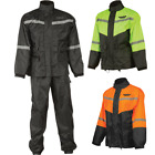 Fly Street 2-Piece Motorcycle Street Rain Suit $79.95 USD on eBay