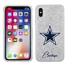 Official NFL DALLAS COWBOYS w/Glitter ShockProof Cover Case for Apple