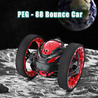 PEG-88 RC Bounce Car 2.4GHz Mobile Wifi HD Camera Control Jumping Car Kids Gifts
