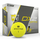 Wilson Staff 2018 DX2 Soft Golf Balls Multi-Buy Discounts NEW BOXED YELLOW