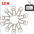 10Pcs Metal Pacifier Clips For Baby Cute Infant Soother Clasps Funny Accessories