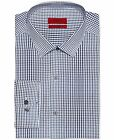 Alfani Fitted Dress Shirt Mens Long Sleeve Button Front Easy Care Stretch Fabric
