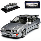 Ford Sierra RS Cosworth Coupe Grau 1982-1993 1/18 Norev Modell Auto mit oder o..