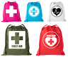 Drawstring Bags for Mini First Aid Kit, Emergency Medical Bag for Medicine