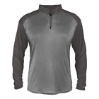 Badger Sportswear Men's Heather Tonal Sport 1/4 Zip Pullover 4394