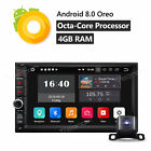 "Android 8.0 8-Core 4GB 7"" Double 2 Din Car Radio Stereo GPS Navigation Bluetooth"
