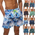 Men's Beach Board Shorts Swimming Surf Swimwear with Pockets Trunks Quick-dry