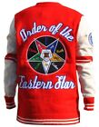 Order of the Eastern Star Cardigan sweater O.E.S Wool Long Sleeve Cardigan