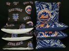 Set of 8 New York Mets Cornhole Bags ***FREE SHIPPING*** on Ebay