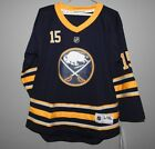 NHL Buffalo Sabres Home #15 Hockey Jersey New Youth Sizes MSRP $70 $28.0 USD on eBay
