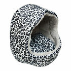 New Leopard Print Pet Dog Cat Puppy Soft Fleece Warm Bed House Basket Pad