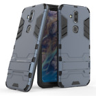 For Nokia 8.1 7.1 6.1 5.1 Plus Shockproof Hybrid Armor PC+TPU Back Case Cover