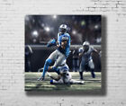Detroit Lions Calvin Johnson Hot baseball Player  27x27 Fabric Poster E-688 $9.9 USD on eBay