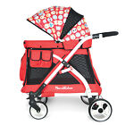 Multipurpose 5-in-1 Baby Stroller Wagon Playpen Removable Seat Bassinet Canopy