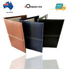 Golf Score Card Holder Yard Book Cover PU Leather with Free 2 Score Sheets AU