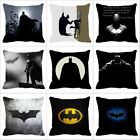 18 Inch Pillow Case Batman Pattern Sofa Cushion Cover image