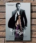 Casino Royale James Bond Daniel Craig Huge Movie Poster Fabric 30 24x36 E-2473 $17.29 CAD on eBay
