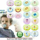 Philips Avent Classic Baby Animal Silicon Pacifier Soother Dummy Binky 0-18m
