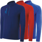 Adidas Golf Men's Pure Motion Mixed Media 1/4 Zip Pullover,  Brand New