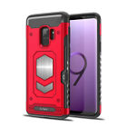 For Samsung Galaxy S9 / Plus Shockproof Card Slot Magnetic Heavy Duty Case Cover <br/> 6 Color&#039;s # Works with any Magnetic Holder # CA Seller