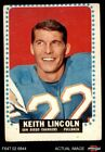 1964 Topps #164 Keith Lincoln Chargers GOOD $5.5 USD on eBay