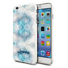 Personalised Marble Phone Case Cover for Apple Samsung Initial Text Name - I04