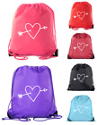 Valentine's Day Bags, Drawstring Cinch Backpacks, Valentines Day Gift Bags